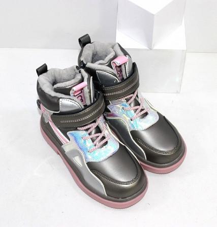 Осенние ботинки для девочек Код: 111825 (2021-36-2) Запоріжжя - зображення 4