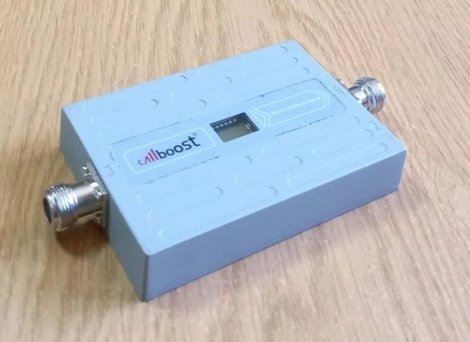 GSM усилитель мобильной связи CB-1568-G 900 МГц 68 дБ 15 дБм, 150-200 кв. м. Дніпро - зображення 2