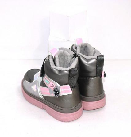 Осенние ботинки для девочек Код: 111825 (2021-36-2) Запоріжжя - зображення 3