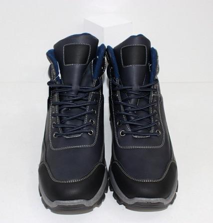 Осенние мужские ботинки синие Код: 111797 (20-853-blue) Запоріжжя - зображення 4