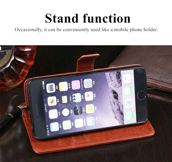 Кожаный чехол-книжка Umidigi F2, Realme 7 5G. Хмельницький - зображення 4