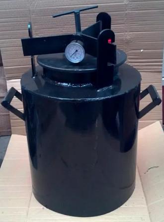 Автоклавы из черного металла ЧМ-10. Предложение от завода. Оплата по факту. Вінниця - зображення 4