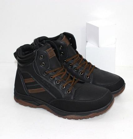 Зимние мужские ботинки Код: 111898 (9406-2) Запоріжжя - зображення 1