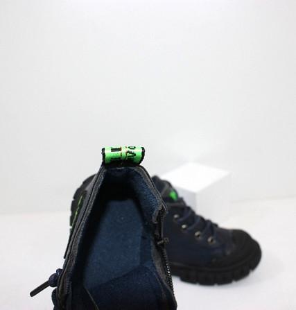 Осенние ботинки для мальчика с молниями и шнурками Код: 111819 (R5288-1) Запоріжжя - зображення 4