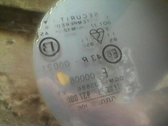 Скло заднє Опель Аскона 84р.в. седан 90036660 оригінал Вінниця - зображення 1