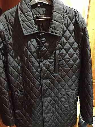 мужская курточка модного стиля синего цвета Дніпро