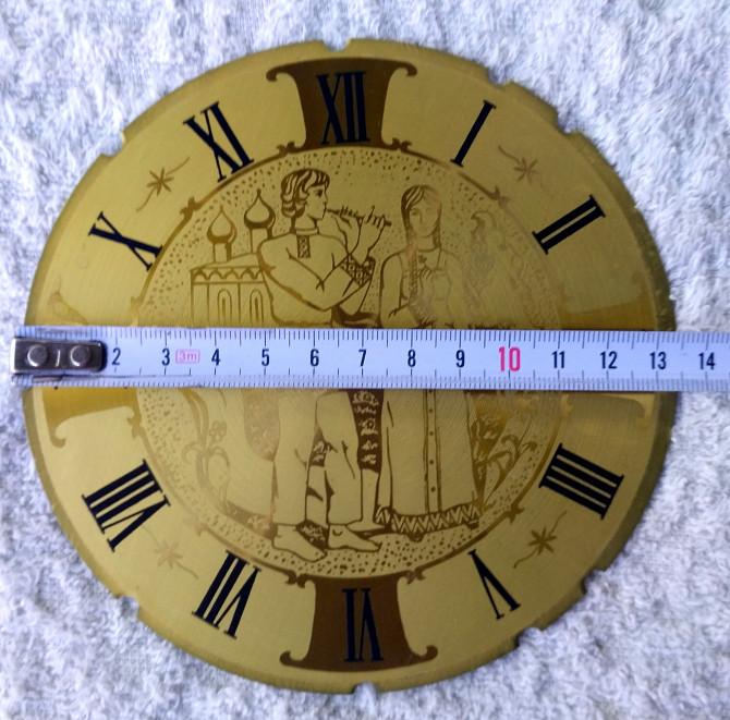 Стекло в рамке и циферблат к каминным часам Київ - зображення 4