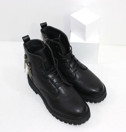 Зимние женские ботинки на молнии Код: 111782 (H53) Запоріжжя - зображення 4