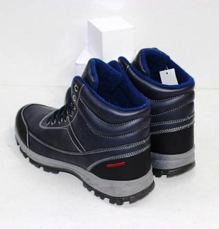 Осенние мужские ботинки синие Код: 111797 (20-853-blue) Запоріжжя - зображення 3