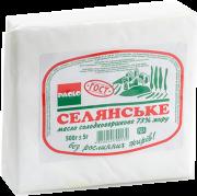 Масло сливочное 73% ТМ Анюта Вінниця