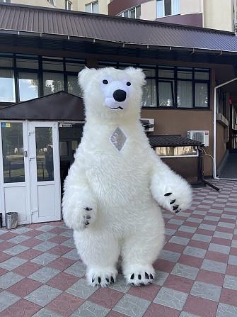 Начните продвижение с надувным костюмом белого медведя Київ - зображення 4