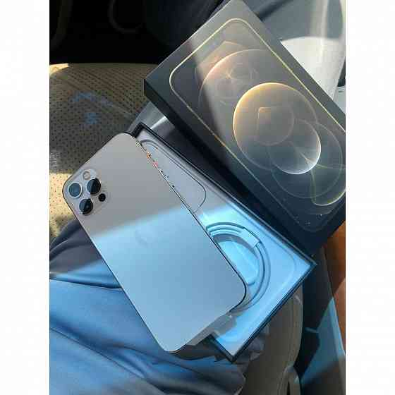 Чистий герметичний Apple iPhone 12 Pro Max - 512 ГБ new Pacific Blue Полтава