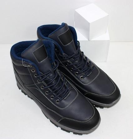 Осенние мужские ботинки синие Код: 111797 (20-853-blue) Запоріжжя - зображення 6
