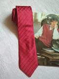 Актуальный, брендовый однотонный шелковый галстук 100% шелк thomas nash Дніпро