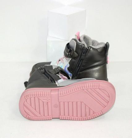 Осенние ботинки для девочек Код: 111825 (2021-36-2) Запоріжжя - зображення 2