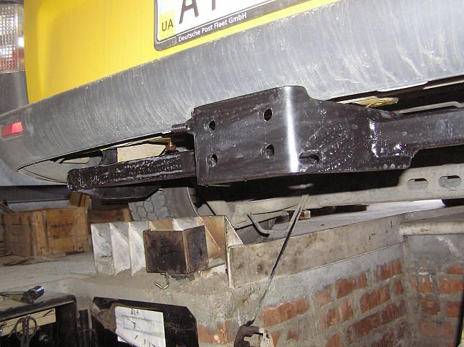 Фаркоп Опель Виваро / Opel Vivaro. Без подрезки бампера, комплектация - полная. Дніпро - зображення 1