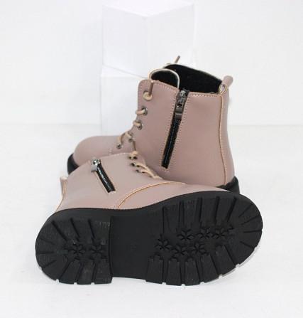 Ботинки для девочек с карманчиком Код: 111830 (21XD-1) Запоріжжя - зображення 3