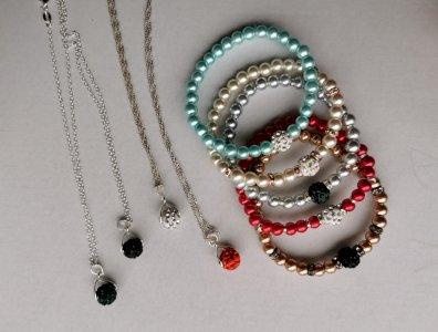 Set ogrlica + narukvica