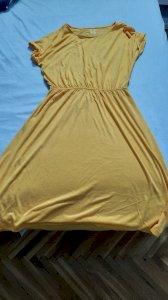 Zuta ljetna haljinica