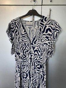 Lepršava haljina s printom