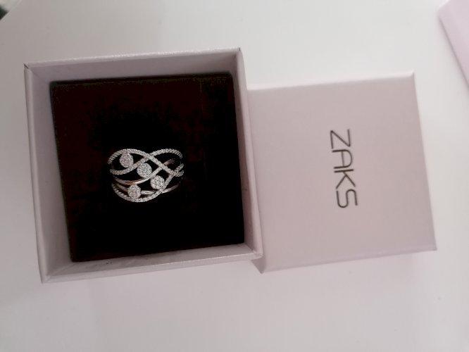 Srebrni prsten Zaks