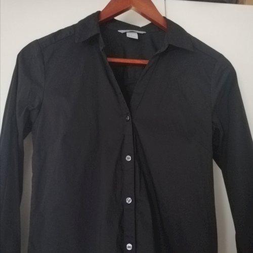 HM crna basic košulja