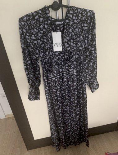 Zara svilena svecana haljina xs