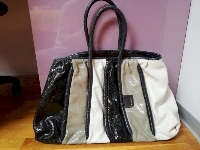 Plavosivobijela torba