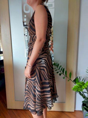 Tigrasta svečana haljina