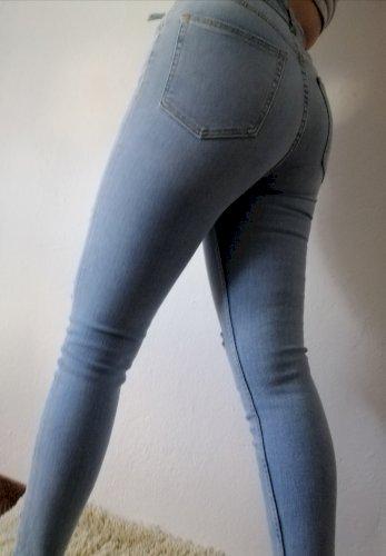 Zara Skinny Vintage traperice novo
