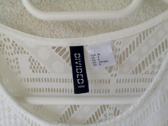 Bijela midi haljina