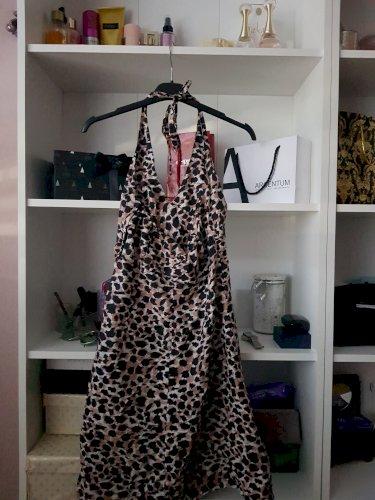 Haljina tigrasta kratka