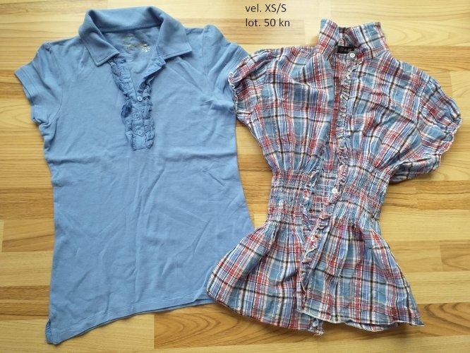majice kratkih i dugih rukava veličina XS