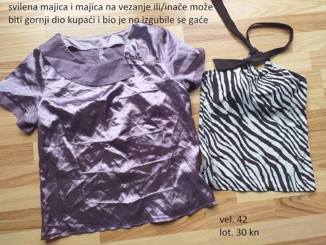 majice kratki i dugi rukavi veličina M