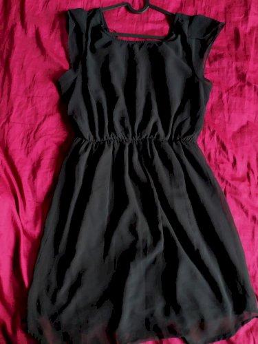 crna haljina xl