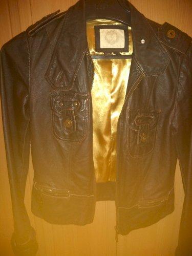 Zara vintage kozna jakna