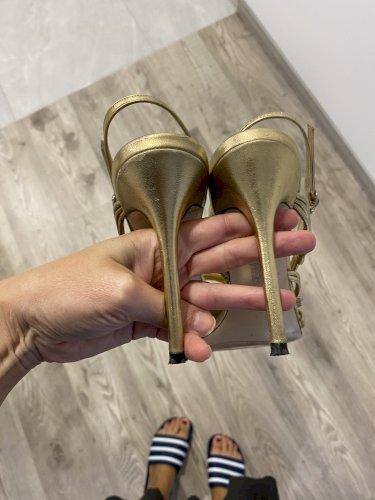 Zara kožne sandale