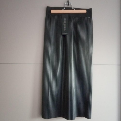 IMAGE HADDAD plisirana midi suknja