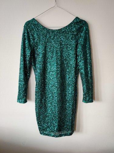 HM šljokasta mini haljina