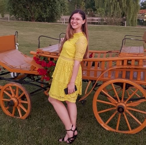 Missguided žuta čipkasta haljina