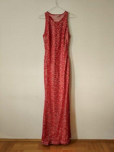 Duga svečana šljokasta haljina