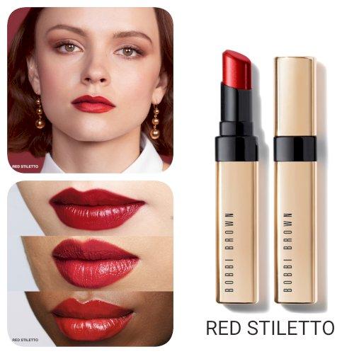 Bobbi Brown Luxe Shine Intense Lipstick  Red Stiletto
