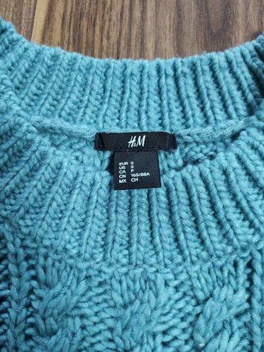 HM tirkizni debeli pulover
