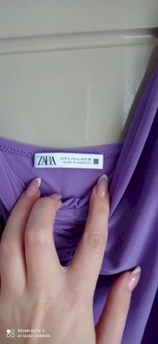 Zara ljubičasta haljina