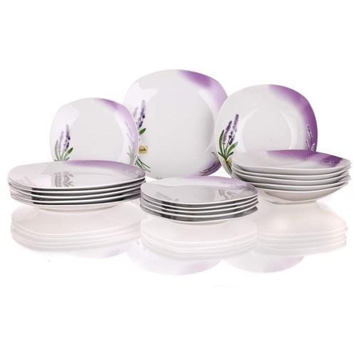 Banquet Lavender 18-dielna jedálenská súprava
