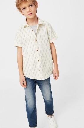 Mango Kids - Detská košeľa Espri 104-164 cm