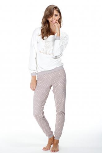 09cfc1db53eb Dámske bavlnené pyžamo Foxy