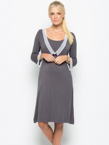 0021e3a3e461 Amoralia New Lace nočná košeľa na kojenie
