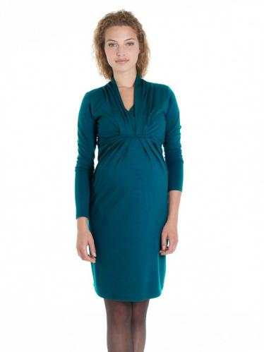 6da321d2e804 Queen Mum Tehotenské šaty na kojenie s V výstrihom