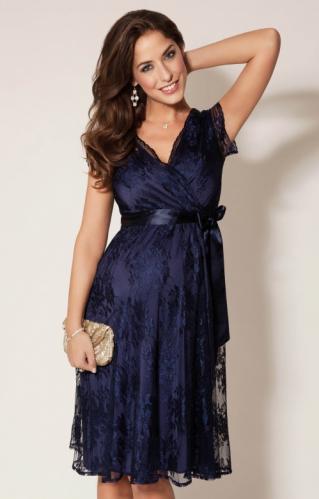 6b44b8eace4e9 Tiffany Rose Eden krátke tehotenské spoločenské šaty Arabian night, veľkosť  S/M